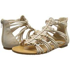 d001af7a9d8a Rocket Dog Womens Hayden Breaker Gladiator Sandals Natural Size 6.5 New