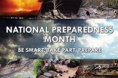 National Preparedness Month 2016