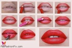 Ultimate Guide To Red Lips - http://www.pinkous.com/beauty/ultimate-guide-to-red-lips-2.html