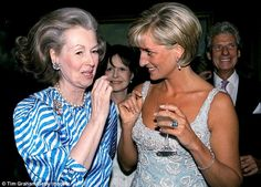 Diana and Raine became very close in the last year of the Princess' life and spoke every day