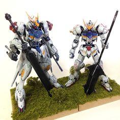 HG 1/144 Gundam Barbatos Lupus - Customized Build     Modeled by 카네코모데라