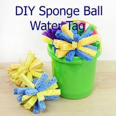 Let's Stay Cool With Some DIY Sponge Ball Water Tag
