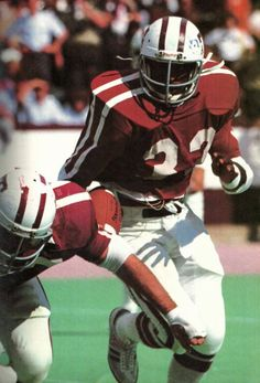 Texas A&M running back David Brothers ('76-'79)