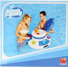 New Bestway Inflatable Floating Drinks Cooler -  Pool Toys
