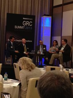 MetricStream GRC Summit 2013 at the Mandarin Oriental Hotel in Las Vegas  Panelists share best practices during the session 'Embedding a Culture of Ethics and Compliance Across the Organization'