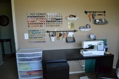 Sewing Room Organization Ideas | ... longer need the extra bed! So I now have my very own sewing room