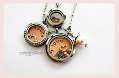Like me on Facebook to be entered in a contest with other businesses beginning in the next week or so. Great prizes to be won!!!  www.facebook.com/floatingcharms.net www.southhilldesigns.com/charmlockets  I love these lockets and love creating my own photos and lockets :)