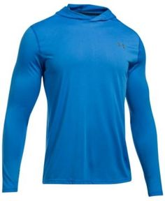 Under Armour Men's Threadborne Siro Lightweight Ultra-Soft Hoodie - Blue XXL