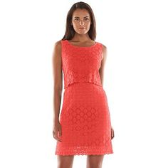 Ronni Nicole Popover Lace Sheath Dress - Women's