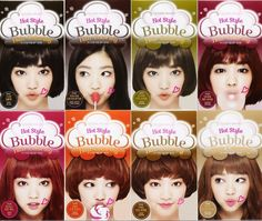 etude house hair bubble dye