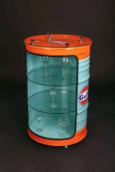 Get easy ways; How to make barrel metal drum furniture for your home