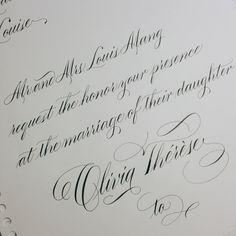 """Higgins Eternal and Zebra G on Maruman #pointedpen #calligraphy"""