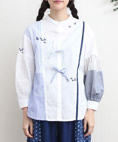 AMBIDEX Store 【予約販売】○remake stitchlong ブラウス(F シロ): l'atelier du savon