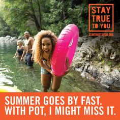 Summer goes by fast. With pot, I might miss it, by the Oregon Health Authority