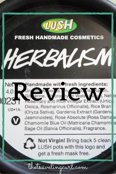Lush Herbalism Review