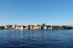 City of Kristiansund, More og Romsdal, Norway Kristiansund, Travel Images, San Francisco Skyline, Bing Images, New York Skyline, River, World, City, Outdoor