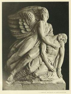 Il monumento di Libero Andreotti ai caduti di Roncade