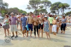 1st Swim around Diaporos island.
