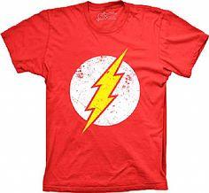 Camiseta Flash Style - Moderna e vintage ao mesmo tempo, a estampa do Flash está supimpa!