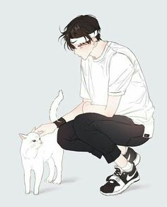 Shared by Archive_kun. Find images and videos about boy, art and anime on We Heart It - the app to get lost in what you love. Anime Oc, Manga Anime, Art Manga, Anime Neko, Anime Style, Drawn Art, Image Manga, Anime Kunst, Handsome Anime
