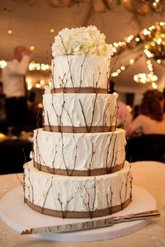Winter Wedding Cakes