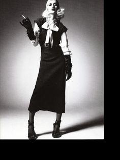Camilla Nickerson / Steven Meisel Vogue Italia July 2006