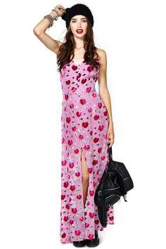 For Love & Lemons Rosita Maxi Dress