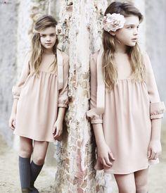 LLEGA PISANDO FUERTE LA PRIMERA COLECCI�N OCASIONES ESPECIALES  2015-2016 DE PEPITO BY CHUS Little Girls, Kids Fashion, Girl Outfits, Vintage, Winter, Model, Baby, Clothes, Kids Fashion Blog
