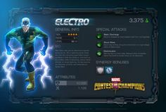 MARVEL CONTEST OF CHAMPIONS ELECTRO TRAILER