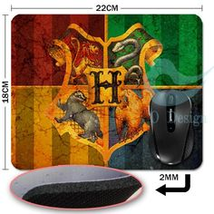Harry Potter Hogwarts Mouse Pad  //Price: $12.49 & FREE Shipping //     #hermionegranger #dumbledore #malfoy #jamespotter #voldemort Harry Potter Gifts, Harry Potter Hogwarts, James Potter, Voldemort, Hermione Granger, Free Shipping