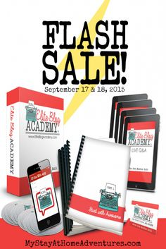Elite Blog Academy is having a 48 hours flash sale and this can be yours for $299. Learn more about this amazing online course and how you can start turning your blog into a profitable business.