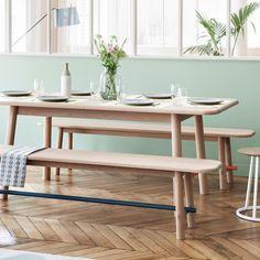 harto design home decor Home Office Furniture, Sofa Furniture, Furniture Design, Expandable Table, Design Tisch, Design Bestseller, Bench Designs, Decoration Table, Dining Bench