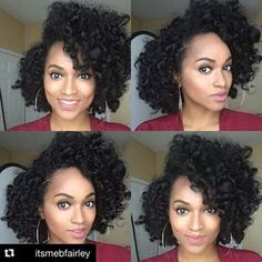 This Beautiful Bouncy Curls tutorial shows you how to create defined curls for medium to long length natural hair. Try it today for a long-lasting style! Natural Hair Tips, Natural Hair Styles, Natural Life, Hair Inspo, Hair Inspiration, 2nd Day Hair, Straight Hairstyles, Cool Hairstyles, Perm Rod Set