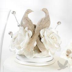 Nesting Turtle Dove Cake Topper | Turtle dove, Wedding cake and ...