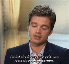 """""""Sebastian Stan Raves Over Working With Chris Evans In Captain America: The First Avenger x 