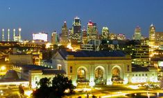 Downtown Kansan City - Unique Places to visit in Missouri, USA