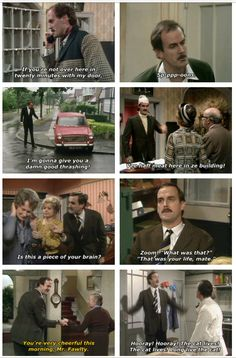 I always have and always will love British humor. Monty Python, The Young Ones, and Fawlty Towers are just the best <3