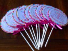 Encargo invitaciones de fiesta Candyland por AllElegant en Etsy