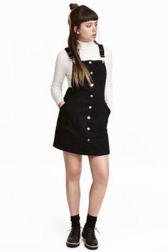데님 오버롤 드레스 | H&M