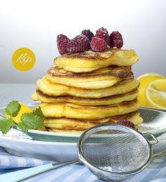 Puszyste pancakesy cytrynowe - Lemon Ricotta Pancakes http://kingaparuzel.pl/blog/?p=4428
