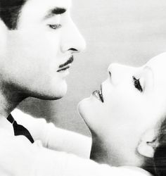 Greta Garbo and John Gilbert                                                                                                                                                                                 More