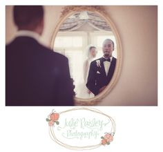 Patrick & Tier | Club Continental Wedding, Jacksonville, FL, Julie Paisley Photography, first look, groom emotion