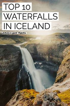10 Incredible Iceland Waterfalls You Can't Miss! Iceland Travel Tips, Iceland Road Trip, Europe Travel Guide, Travel Guides, Travel Destinations, Beautiful Places To Visit, Cool Places To Visit, Places To Go, Iceland Waterfalls