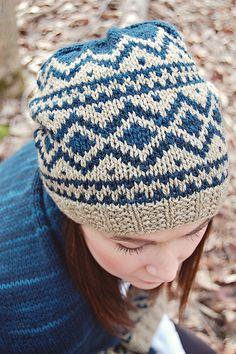Ravelry: Saugerties Hat pattern by Jill Zielinski