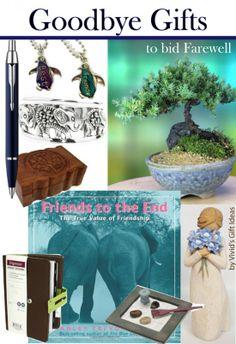 12 Goodbye Gifts to Bid Farewell