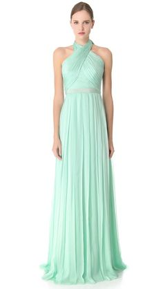 Giambattista Valli Cross Front Gown @Alicia Larson I'll get you this one! It's only $6,995