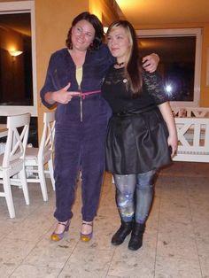 Ik met Anita Riot, van de Weense blog thickthreads - Love Hermina from the Blog Wondervol!