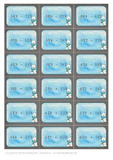 Reif für die Ferien: Mathe-Spiel Klasse 3 - Aufgabenkärtchen Teil 2