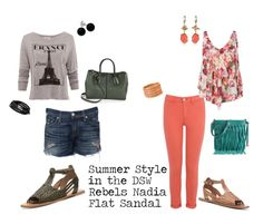Outfits styled for the Rebels Nadia Flat! Love how it can be dressed up or totally casual. #DSWShoeHookup #PinToWin