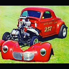 These were the GREAT DAYS OF DRAG RACING!! Sure would LOVE to go back to them!! When racing was....racing. Not the $$$ involved!